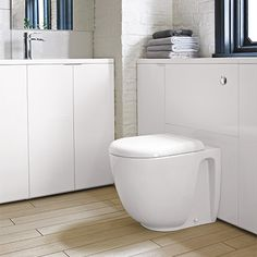 Another great space saver for a compact bathroom is a sink cabinet, ideal for keeping washroom products out of sight and maintaining a minimalist look to your bathroom. Compact Bathroom, Loft Bathroom, Family Bathroom, Bathroom Toilets, Bathroom Ideas, Bathrooms, Toilet And Sink Unit, Toilet Sink, Bathroom Sink Cabinets