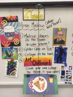 Jamestown Elementary Art Blog: Second grade Henri Matisse fishbowls