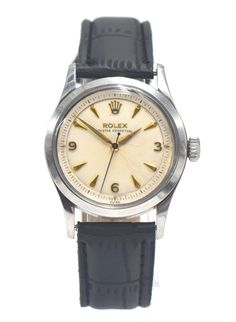 1956 Rolex Oyster Perpetual 2-Step Bullseye Dial Classic vintage Rolex Vintage Rolex, Vintage Watches, Rolex Oyster Perpetual, Luxury Watches For Men, Mechanical Watch, Oysters, Chronograph, Rolex Watches, Bubbles