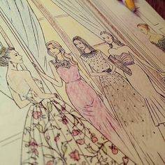 The selection coloring book kiera cass paperback Love Coloring Pages, Coloring Books, Colouring, Selection Series, The Selection, Kiera Cass Books, American Gods, Dancing In The Rain, Ex Libris