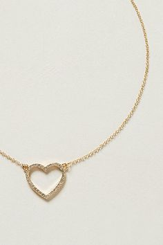 lil' heart necklace