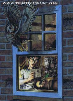 Harry Potter: Book 3 Ch.01 by TheGeekCanPaint.deviantart.com on @deviantART