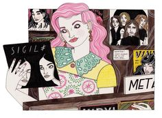 Fashion Stories - Laura Callaghan Illustration