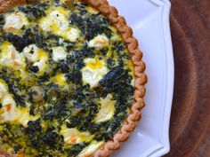 Potato, Spinach, and Goat Cheese Quiche | Serious Eats : Recipes