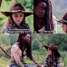 Walking Dead Facts, Walking Dead Quotes, Walking Dead Show, Walking Dead Tv Series, Fear The Walking Dead, Dead Pictures, Dead Pics, Funny Pictures, Judith Grimes
