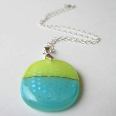 Fused Glass Pendant | by Karmaticsoul
