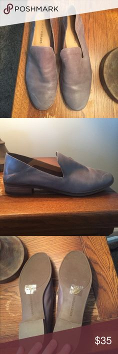 Lucky Brand Cahill flat Lucky Brand Cahill flat.  Color: driftwood.  Only worn once.  Excellent condition.  Very, very soft leather.  Perfect for fall! Lucky Brand Shoes Flats & Loafers