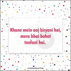 Need Compliments For Your Yaar? Here Are 24 Desi Poems For Your Undying Pyaar Funny Teenager Quotes, Funny Quotes In Hindi, Bad Quotes, Dope Quotes, Cute Funny Quotes, Qoutes, Short Quotes, Instagram Caption Lyrics, Funny Quotes For Instagram