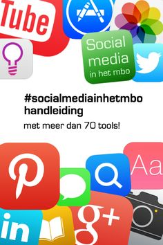 Download de 31 pagina's tellende gratis handleiding met meer dan 70 social media tools voor in het onderwijs!