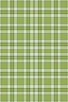 green plaid: