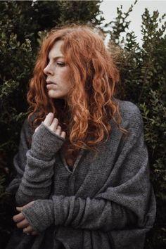 Womens oversize grey sweater | RUKE - quality sweaters manufactory