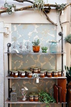 A nook, a makeover, and some beautiful paint. | sfgirlbybay | Bloglovin #interiors