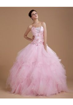 By Alexandra Dallaire Ball Gown Strapless Sleeveless Floor-length Tulle 2013 Quinceanera Dresses #BUKCH510 - See more at: http://www.avivadress.com/special-occasion-dresses/ball-gowns-quinceanera-dresses.html#sthash.FsjUWIC9.dpuf