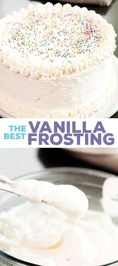 If you're looking for a vanilla frosting that's less sweet than a traditional buttercream, but still velvety smooth, this light, and fluffy cooked flour frosting is just the thing. It really is the best frosting!