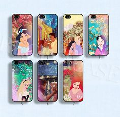 Disney princess case Disney phone case Van Gogh and Disney Princess phone case for iphone 4/4s 5/5s Galaxy s3 s4 s5 on Etsy, $11.05 AUD