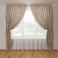 model Curtain 04 blind curtain curtains drape, available in MAX, OBJ, FBX, ready for animation Beautiful Curtains, Cool Curtains, Curtains With Blinds, Lace Curtains, Living Room Decor Curtains, Bedroom Decor, Bathroom Curtain Set, Bathroom Closet, Master Closet