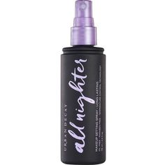 URBAN DECAY All Nighter setting spray 120ml (39 CAD) ❤ liked on Polyvore featuring beauty products