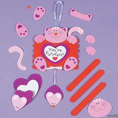 divertida manualidad infantil para el dia de san valentin :)