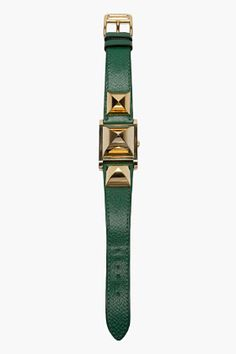 Silver & Black G-Timeless Watch Fashion Art, Latest Fashion, Hermes Vintage, Hermes Watch, Fine Jewelry, Women Jewelry, Emerald Color, Vintage Green, Jewelry Watches