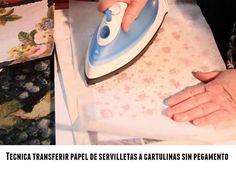 Tecnica transferir papel a cartulina sin pegamentos   Vamos a ver una técnica que sirve para tra...