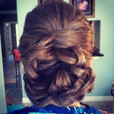 Hair style for Wedding, Prom, or Special Event!