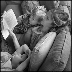 Women Reading - billpoole: For Mother's Day, 2015.