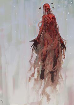 Crimson Peak – fan art/concept art by Edward Delandre