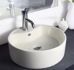 Buy Hindware Solitaire Table Top Basin-91064 in Washbasins through online at NirmanKart.com