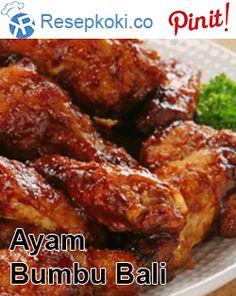 Resep Sederhana Ayam Bumbu Bali