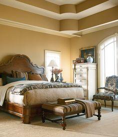 Henredon Castellina Bed Bedroom Luxury Furniture Design Luxurious Bedrooms Thomasville