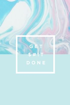 Download your free mobile wallpaper freebies made just for you! Soft pastels + marble patterns + motivational quotes, what's not to love? Get yours now!