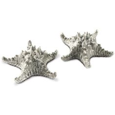 Vagabond House Pewter Star Fish Salt & Pepper Set ($110) ❤ liked on Polyvore featuring home, kitchen & dining, serveware, pewter salt pepper shakers, pewter salt and pepper shakers, vagabond house and pewter serveware