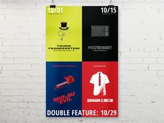 October Movies Poster