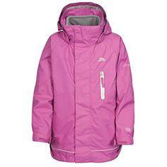 80b8e37f7e01 Trespass Childrens Kids Prime 3-In-1 Jacket (5 6 Years) (Bubblegum)