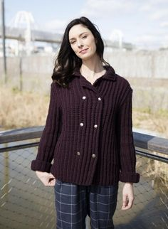 Wooling n°1 - n°15 Veste Croisée  Modèles, broderie & tricot  Achat en ligne