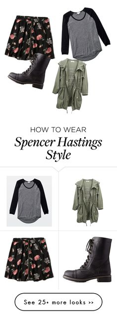 """""""Spencer Hastings Inspired Outfit"""" by ninerstheriot on Polyvore featuring Wilfred, Abercrombie & Fitch and Charlotte Russe"""
