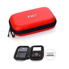 Fiio Dual-layer Hard Carrying Case for Fiio (red) Big Music, Camera Accessories, Apple Products, Apple Watch, Carry On, Smart Watch, All In One, Layers, Camera Bags