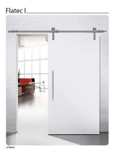 AUNMAS Gu/ía del Piso de la Puerta Gu/ía de la Puerta de Estudio Resistente y de Acero Negro para Puertas de Granero corredizas con 8 Opciones de instalaci/ón