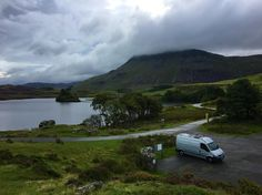 Spent a few nights here in the #van. Stunning views and very quiet. #vanlife #wales #lake #mountains #peaceful