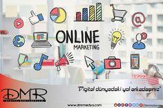 Ekonomide en büyük pay E-Ticaret'te. Her gün yüzlerce yeni sanal pazar, satışa başlıyor.  E-Ticaret'te en etkili reklam yöntemi yine digital reklam olarak göze çarpıyor. Digital reklam planması yapan sanal pazarlar, her geçen gün büyümeye devam ediyor.   Dmr Medya digital dünyada size yol arkadaşlığı yapmaya devam ediyor.   #DmrMedya