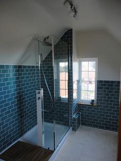 loft conversion ideas with ensuite Bathtub, Loft, Shower, Bathroom, Google Search, Ideas, Standing Bath, Rain Shower Heads, Washroom
