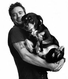 Jeffrey Dean Morgan  || Great photo with dog!