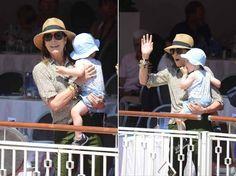Monaco Royals attend Jumping Di Montecarlo, Monte Carlo, Monaco -