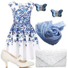 Di fiore in fiore  outfit donna Bon Ton per cerimonia e party discoteca 926870be7af