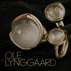 Denmark's Royal jewellers Ole Lynggaard Copenhagen have been creating elegant jewellery for more than 50 years. Charlotte Lynggaard reveals why the company loves to work with gold #LoveGold