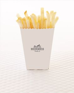 Hermès french fries potatoes, Amy Moss