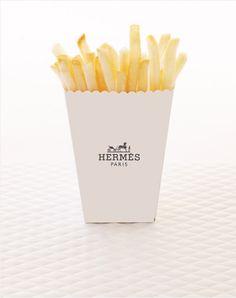 Hermès french fries potatoes, Amy Moss