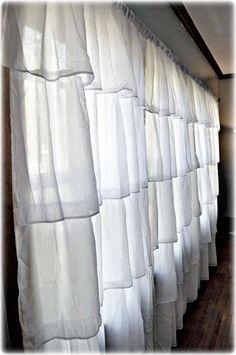 tiered curtains