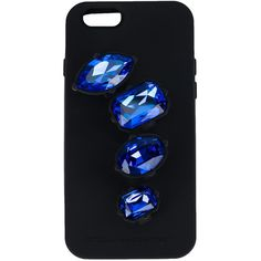 Stella McCartney Ring iPhone 6 Case ($215) ❤ liked on Polyvore featuring accessories, tech accessories, phone, phone cases, iphone cases, kirna zabete, tech, stella mccartney iphone case, apple iphone case and blue iphone case