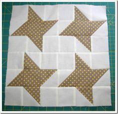 Star Sampler Quilt – Block 3 - Four-Patch Friendship Star